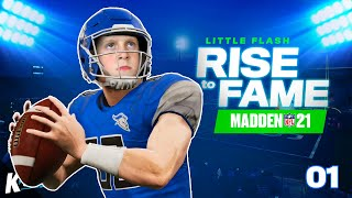Little Flash: Rise to Fame in Madden NFL 21!!! (Part 1)  K-City Gaming
