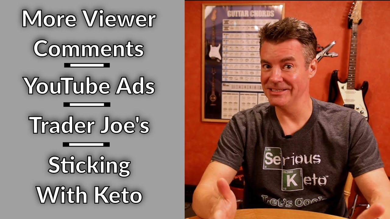 Video Podcast 22 Comments On Comments Youtube Ad Changes Sticking With Keto Youtube