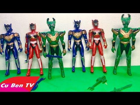 SIÊU NHÂN KIẾN - Bộ đồ chơi 6 anh em siêu nhân kiến - Đồ Chơi Trẻ Em | Cu  Ben TV