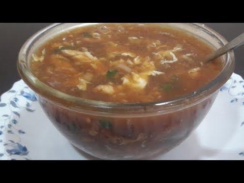 Tasyy Chicken Hot& Sour Soup/Hot & Sour Soup/ Chicken Soup/ English Subtitle