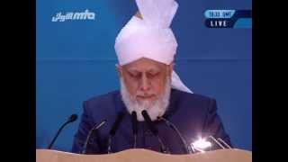 2013-06-29 Ansprache des Kalifen (aba) an die Frauen auf der Jalsa Salana 2013