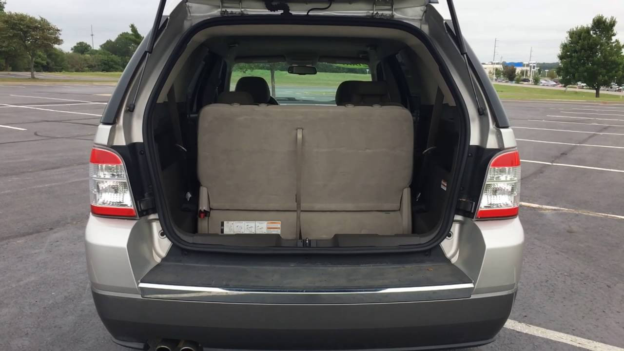 2008 ford taurus x sel si56361a