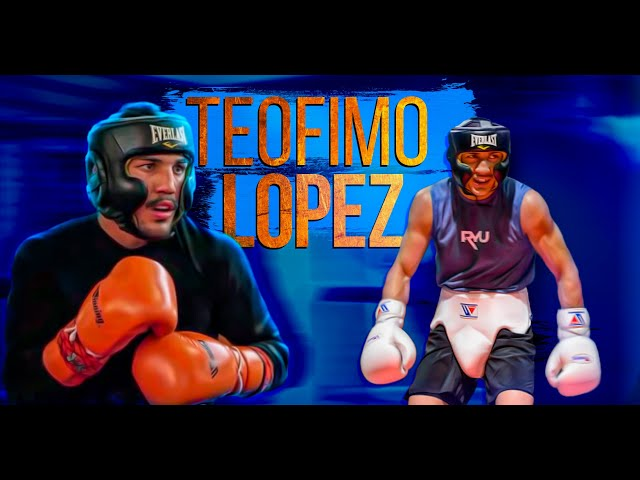 TEOFIMO LOPEZ - Sparring   Best Moments