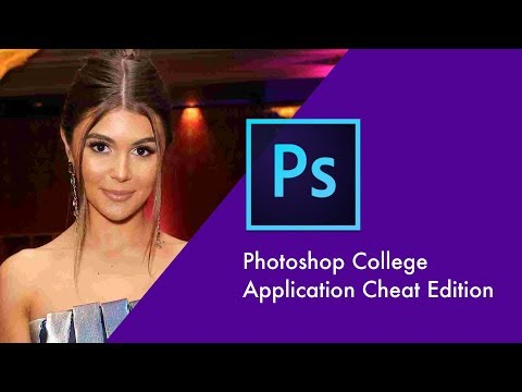 Kyle Anthony - Photoshop's New College Application Cheat Edition