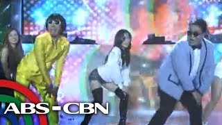 It's Showtime: Cristine sizzles in dance number with Teddy, Jugs