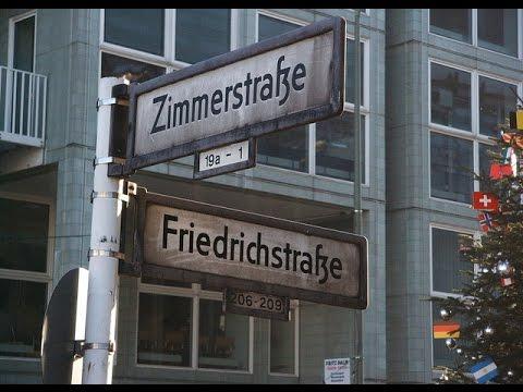 Zimmer strasse Werner Brussau berlin west ost ddr