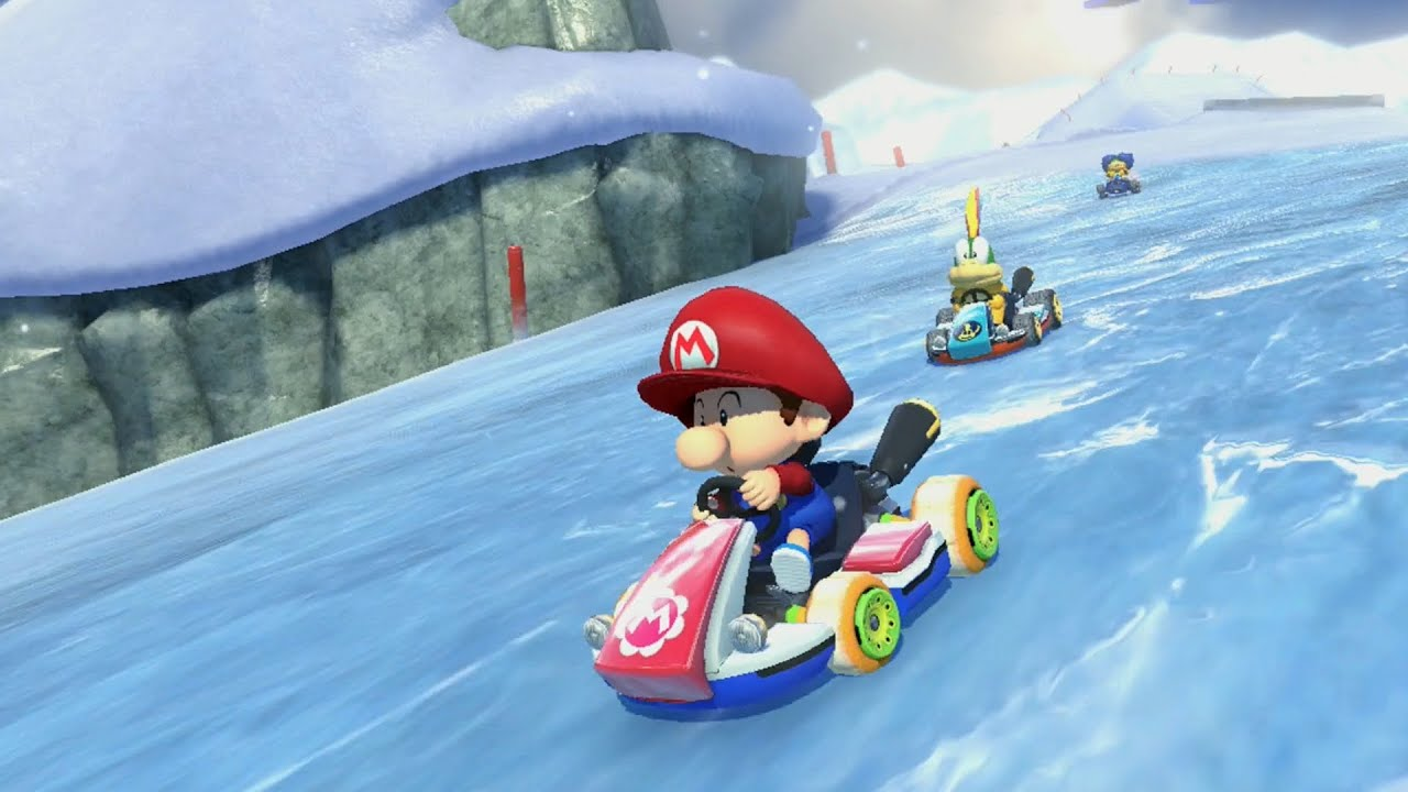 mario kart 8 grand prix star cup youtube