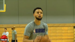 Steph Curry Shooting 3's During Workout For 1 Hour At Warriors Practice. HoopJab NBA