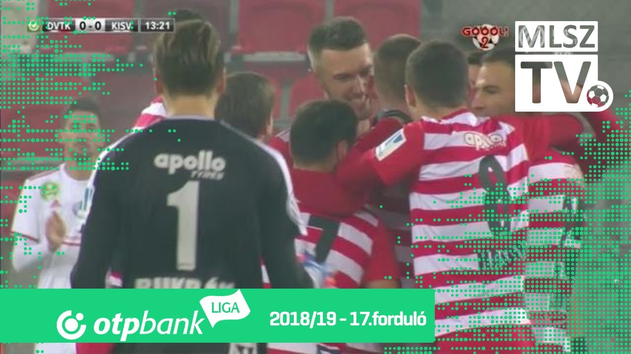 Juhar Martin gólja a DVTK – Kisvárda Master Good mérkőzésen