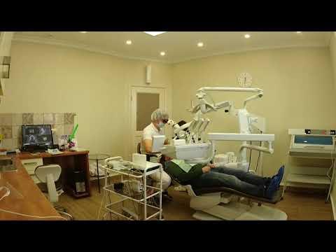 Лечение зубов под микроскопом time lapse