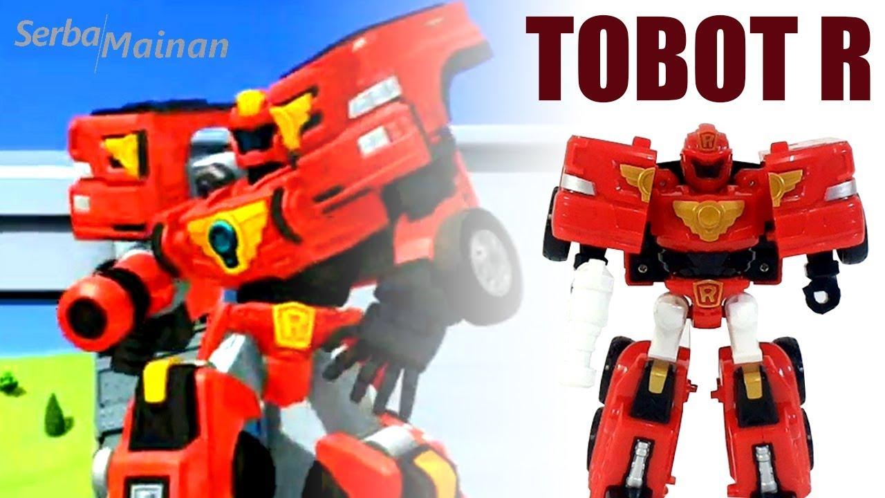 Mainan Tobot Mini R Robot Toy Review | Mainan Anak Young