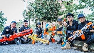 LTT Nerf War : SEAL X Warriors Nerf Guns Fight Criminal Group Dr Lee Requite Secret Agent