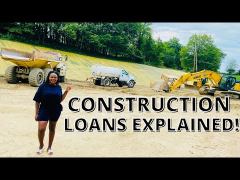 HOW TO GET A CONSTRUCTION LOAN (NEW CONSTRUCTION MORTGAGE) DREAM HOME EP18