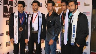Hrithik Roshan : Rohit Khandelwal  At The  Grand Finale Of Peter  England Mr. India 2016