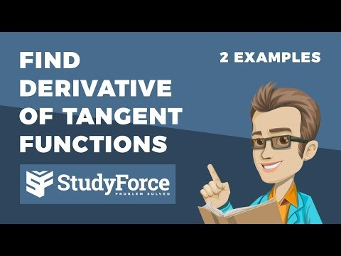📚 How to find the derivative of tangent functions