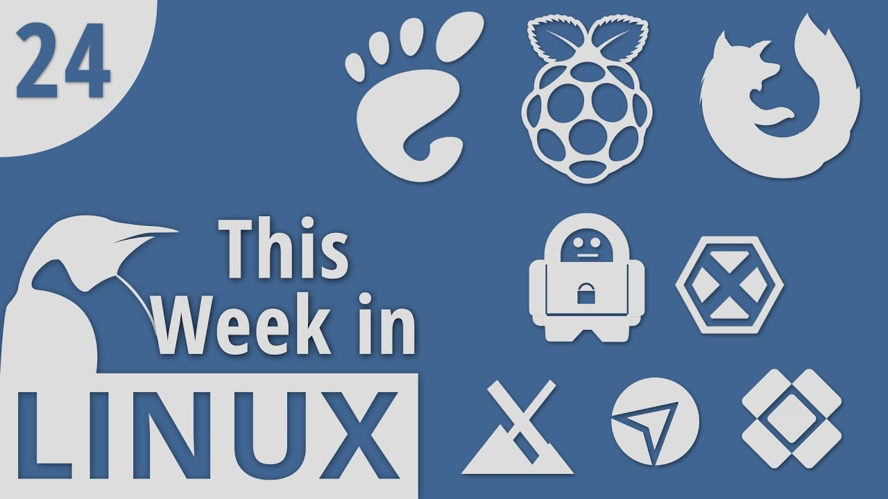 GNOME 3 28, Raspberry Pi 3B+, Firefox 59, Private Internet Access VPN &  more | This Week in Linux 24