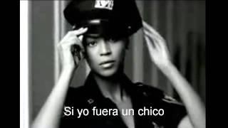 Beyoncé - Si yo fuera un chico letra thumbnail