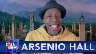 Download FULL INTERVIEW - Arsenio Hall And Stephen Colbert Meet For The First Time