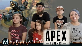 Apex Legends Official Launch Trailer- REACTION and REVIEW!!!