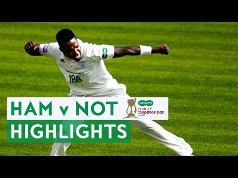 Rahane Hits Ton As Hampshire Go Second | Ham v Not | Specsavers County Championship