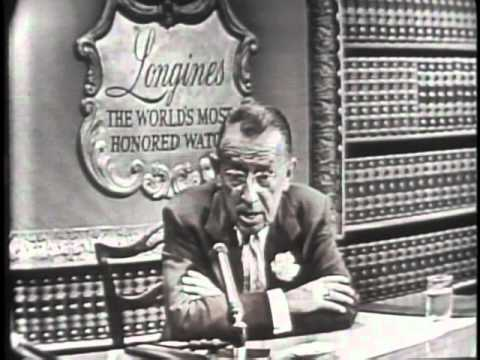 LONGINES-WITTNAUER WITH BASIL O'CONNOR