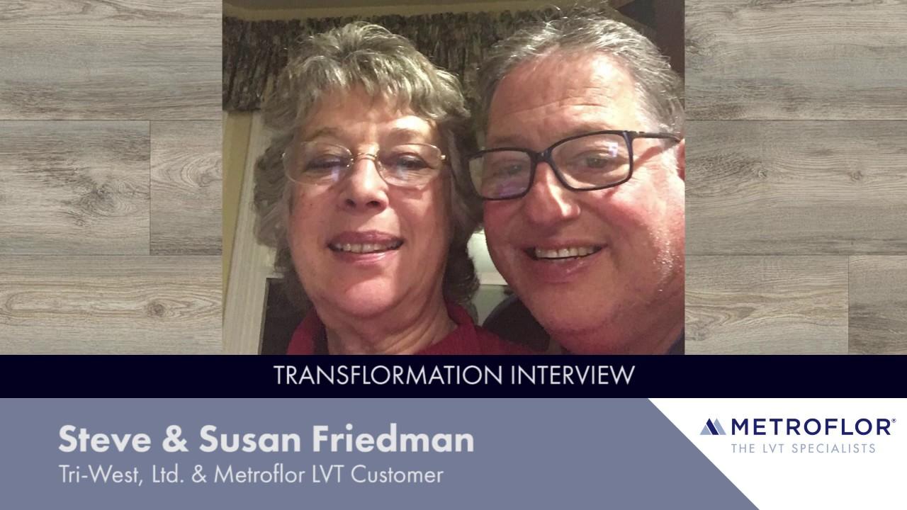 Metroflor Engage Genesis Reviews Steve Susan Friedman S Transflormation Interview