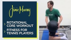Rotational Core Exercises | Fitness for Tennis Players | Jamie Murray