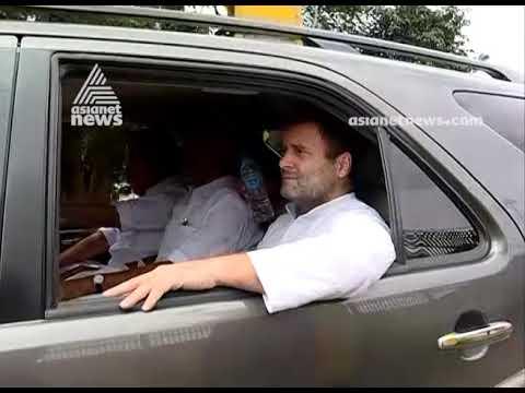 Rahul Gandhi at Malappuram : Wayanad MP to visit Wayanad and Kozhikode