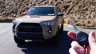 2016 toyota 4runner trd pro start up exhaust and review
