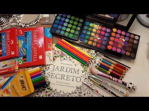 qual?-jardim-secreto-ou-floresta-encantada?-colorir-com-maquiagem?-os-meus-já-coloridos...-#veda-26