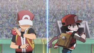 Pokémon Battle USUM: Champion Red Vs Red Let's go (Red Vs Red)