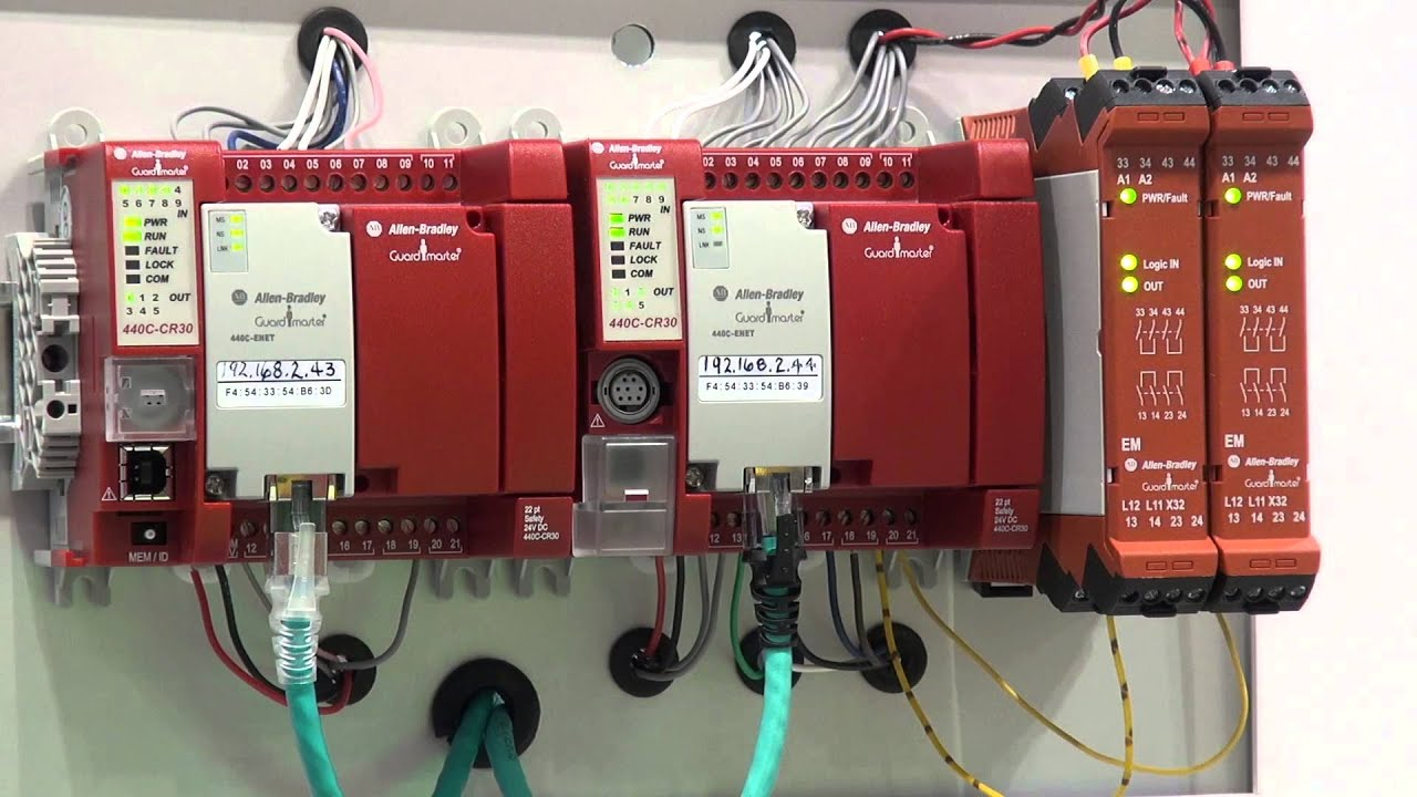 Allen Bradley Guardmaster Safety Relay Wiring Diagram 3 Phase Drum Switch Award Winning 440c Cr30 Eases