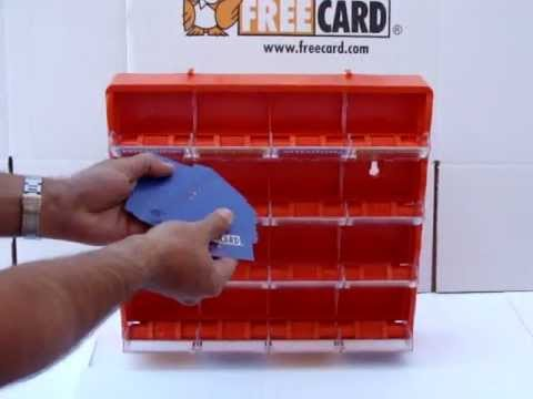 Business Card Display by FREE CARD