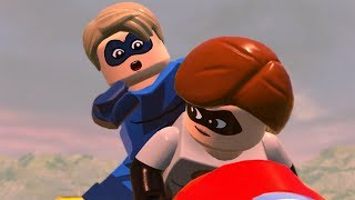 LEGO The Incredibles Walkthrough Part 2 - Chapter 2: Hover Train Hijinx (The Incredibles 2)