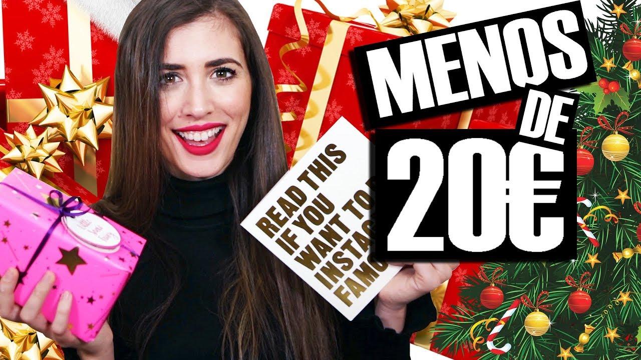 Ideas de REGALOS de Navidad por MENOS de 20 2017 Para