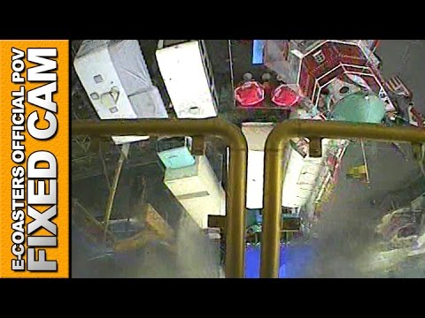 Flying Circus Flat Ride POV On Ride Magic Arms Barth - Foire Stuttgart Oktoberfest (Germany)