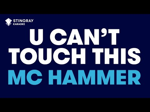U Can't Touch This in the style of M.C. Hammer | Karaoke with Lyrics