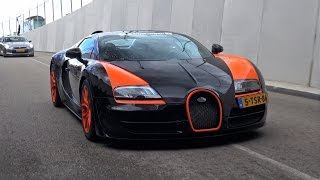 Supercars TUNNEL Accelerations, Launches & REVS! Bugatti Veyron WRC, Agera R, Aventador