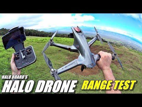 HALO DRONE Range Test - How far will it go?