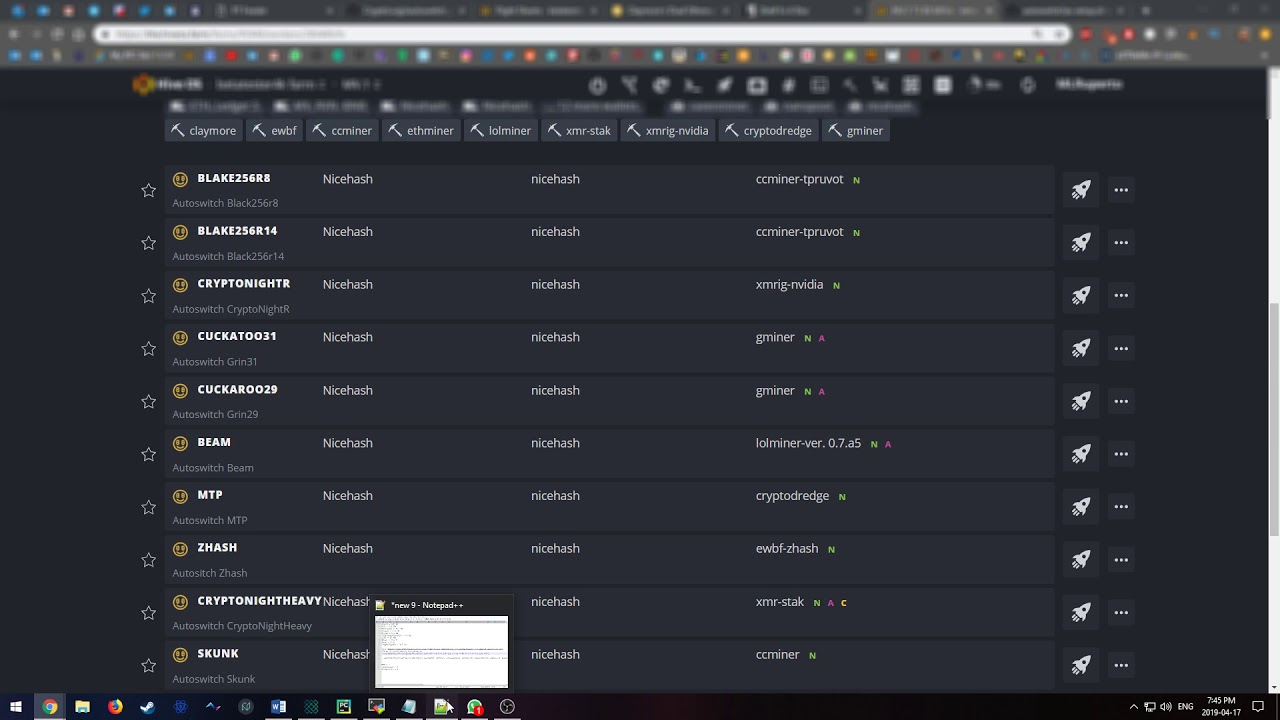 Hiveos Tutorial Benchmark Install Of Nicehash Autoswitch Youtube In this video we will learn how to mine nicehash algorithms using hiveos. hiveos tutorial benchmark install of nicehash autoswitch