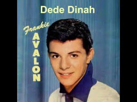 Dede Dinah Frankie Avalon Stereo Sound 1958 #7 - YouTube