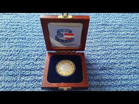 500 Schilling Austria Gold Silver Coin Östereich in der EU 1995