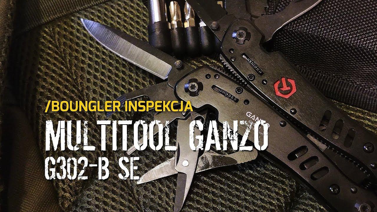 Multitool Ganzo G302-B - Boungler Inspekcja