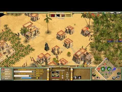 Magyar (Isis) vs King (Isis) on Oasis - Age of Mythology KorN finals 2010