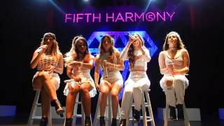 "Fifth Harmony ""Who Are You"" The Fillmore 6/4/14 5Th Times A Charm Tour"