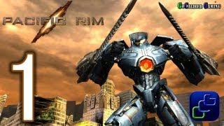 Pacific Rim:The Video Game Android Walkthrough - Gameplay Part 1 - Missions 1,2,3