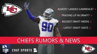 Kansas City Chiefs Rumors on Trading Up In The NFL Draft, DeMarcus Lawrence Trade, & Draft Needs