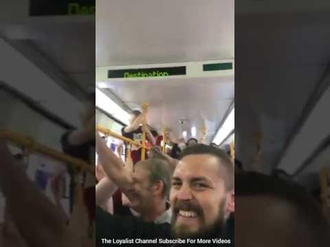 Rangers Fans Sing Song Sheffield 2017