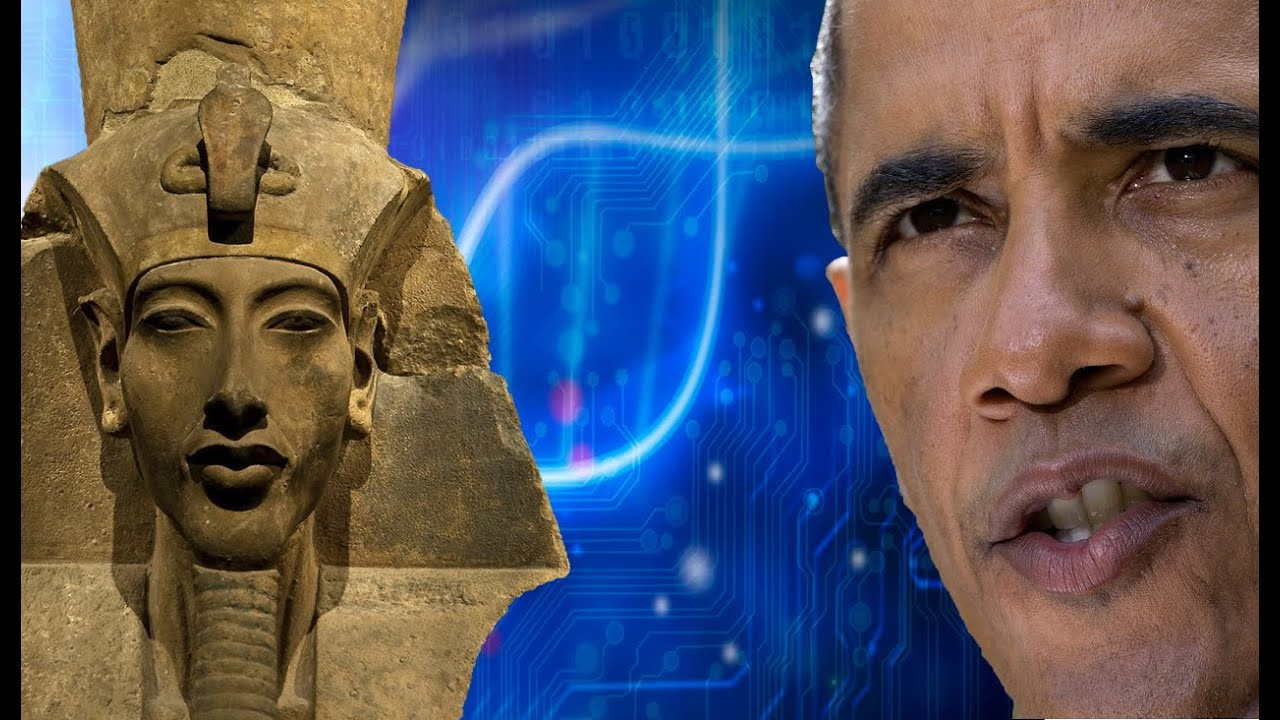 President Barack Obama is the clone of Akhenaten' conspiracy theory