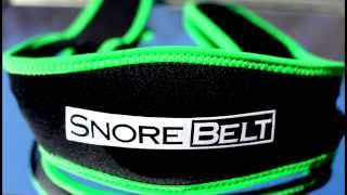 SNORE BELT - Anti Snoring Chin Strap - Stop Snoring Solution